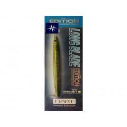 Señuelo Jigging Hart Long Blade Verde 100 gr