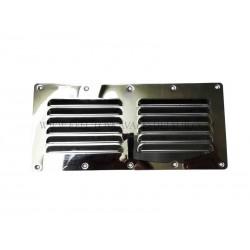 Rejilla ventilación inox 130 x 115