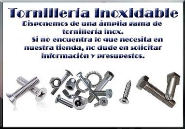Tornillería inox